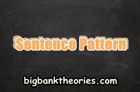 Sentence Pattern Dalam Bahasa Inggris | sentence pattern dan berbagai macam contohnya