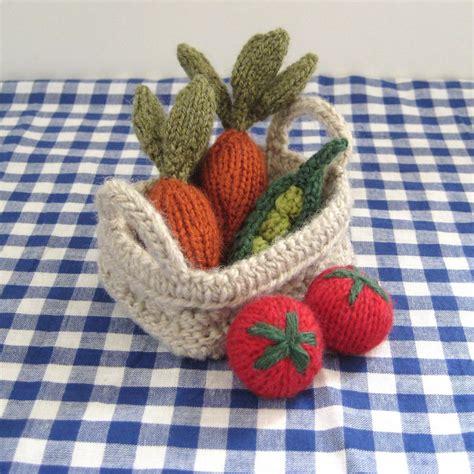 Knitting Pattern Vegetables   fruit vegetables toy knitting patterns on luulla