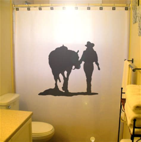 horse themed bathroom cowgirl shower curtain horse western theme bathroom decor kids