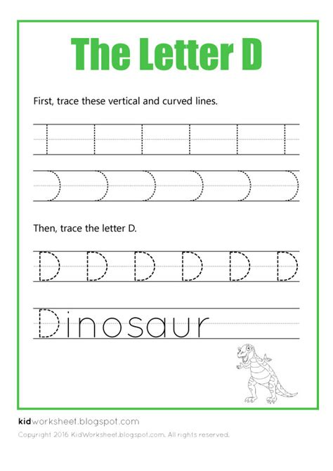 Letter D Worksheets by Free Worksheet Tracing Letter D Worksheets For