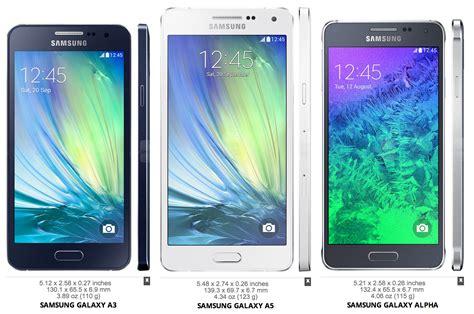 Samsung A3 A4 A5 comparativa t 233 cnica galaxy a5 y a3 contra su competencia