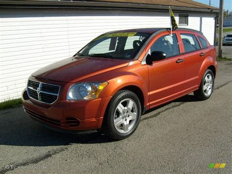 2008 sunburst orange pearl dodge caliber sxt 20137194 gtcarlot car color galleries