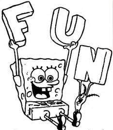 spongebob coloring pages coloring pages