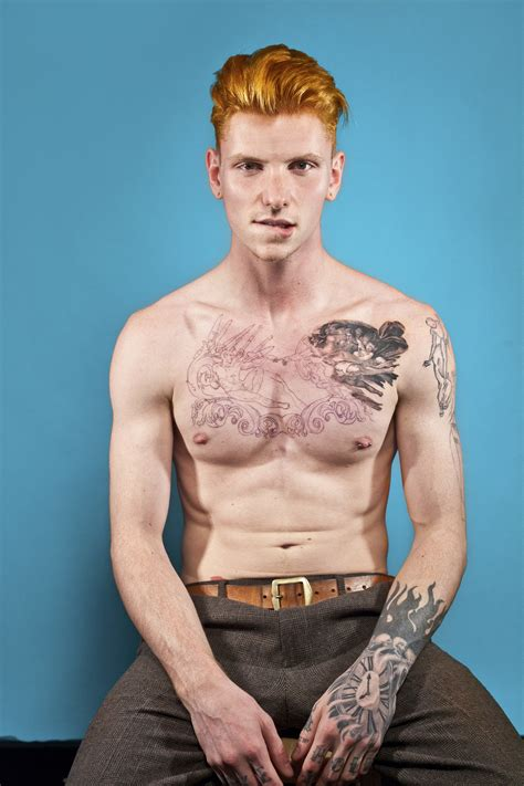 ginger s red hot exhibition celebrates the ginger male