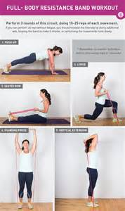 a do anywhere resistance band workout greatist