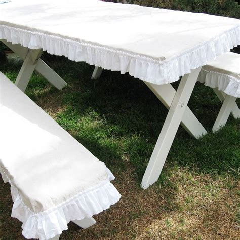 picnic table cover set the 25 best picnic table covers ideas on