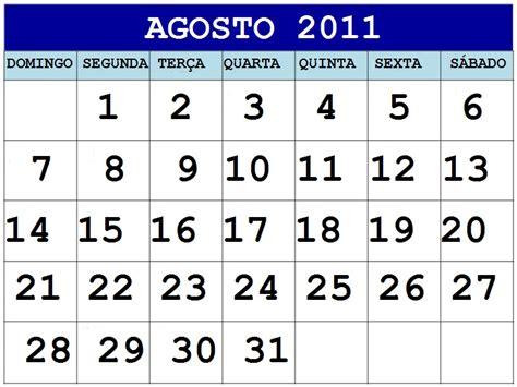 Calendario Mes De Agosto Calendario Mes De Agosto Newhairstylesformen2014