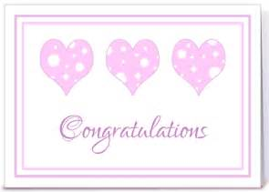 baby shower congratulations pink hearts greeting card by dreaming mind cards card gnome