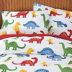very fresh looking dinosaur bedding