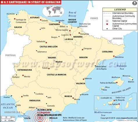 world map gibraltar gibraltar earthquake map earthquakes in gibraltar