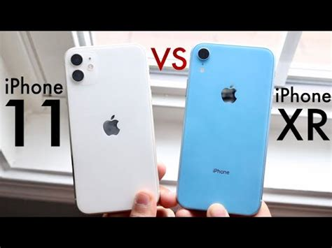 iphone   iphone xr comparison review youtube