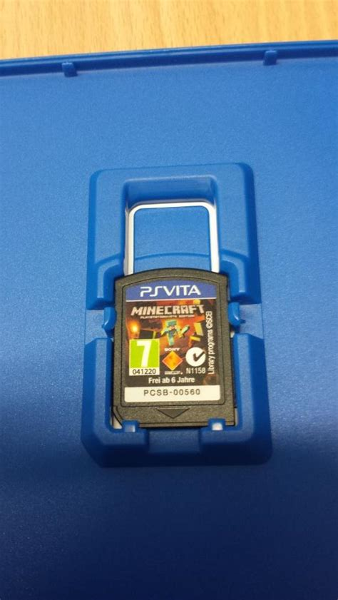 Cartridge Untuk Ps Vita no cartridge for minecraft ps vita edition mcpsvita discussion minecraft playstation