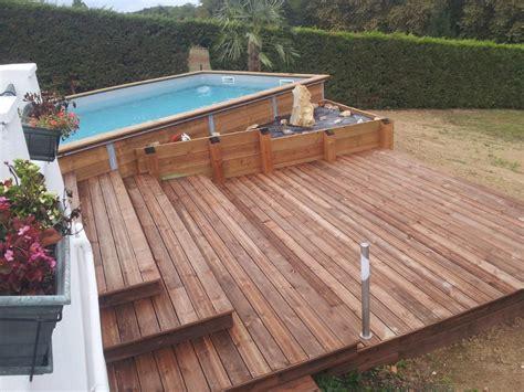 Construire Sa Piscine En Bois 2091 by Photos Piscine Et Terrasse Bois 224 Labenne Dans Les Landes