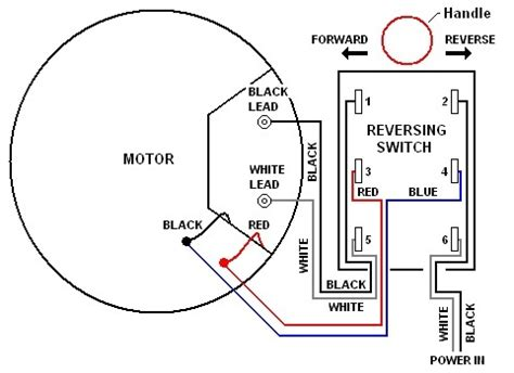 ac motor reversing switch wiring diagram wiring diagram