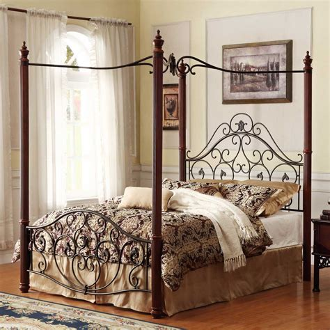 Iron Bedroom Sets by Iron Bedroom Furniture King Canopy Bed Cast Beds Designs