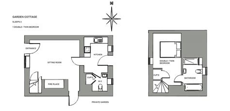 backyard backyard cottage plans excellent floor plan view of garden cottage sleeps 2 rookery farm holidays north
