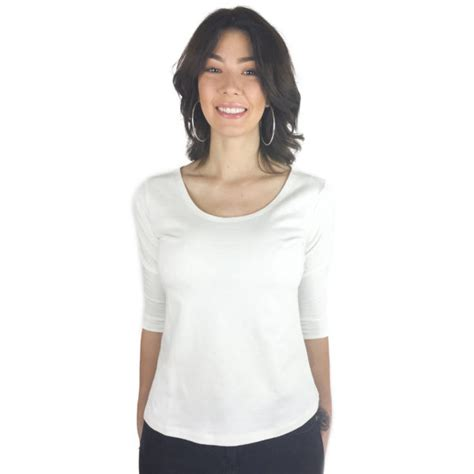 3 4 sleeve white scoop neck shirt jcpenney 3 4 sleeve white scoop neck shirt jcpenney scoop neck 3 4