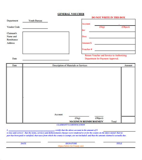 sle blank voucher 11 documents in psd pdf
