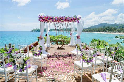 Wedding Venues Island tropical island wedding thailand the wedding bliss thailand