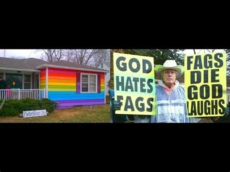 equality house rainbow equality house next to westboro baptist church