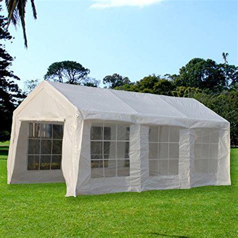 Small Canopy Shelter Snail 10 X 20 Ft Portable Domain Carport Car Canopy