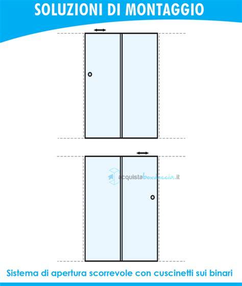 porta doccia scorrevole prezzi porta doccia scorrevole 120 cm opaco