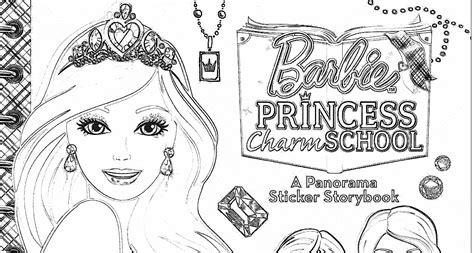 Barbie Princess Charm School Coloring Pages Coloring Pages Princess Charm School