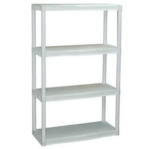 plano 4 shelf storage unit white walmart