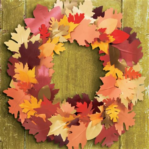 Autumn Paper Crafts - fall crafts