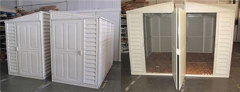 Sidemate Shed by Duramax 4x8 Sidemate Vinyl Storage Shed W Floor 06625