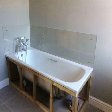 splashback for bathroom sink clear splashbacks the plastic people