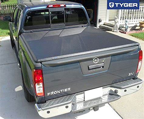 nissan frontier bed cover tyger auto tg bc3n1028 tri fold pickup tonneau cover fits