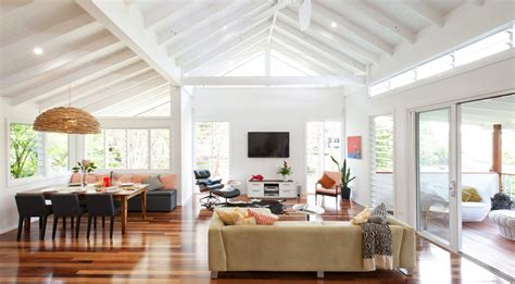 Open Plan Kitchen Living Room Design Ideas beam ceiling designs living room contemporary with modern