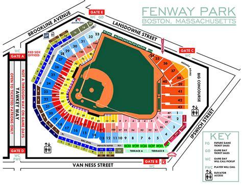 fenway park seating views single ticket pricing boston sox
