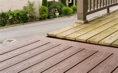decking material treated wood