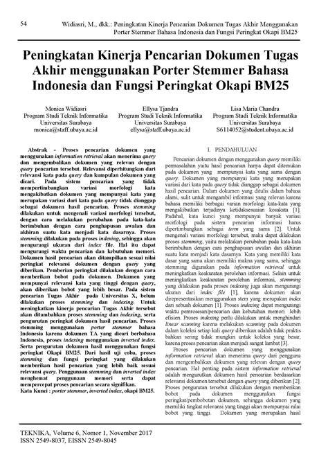 compress pdf bahasa indonesia peningkatan kinerja pencarian dokumen tugas akhir