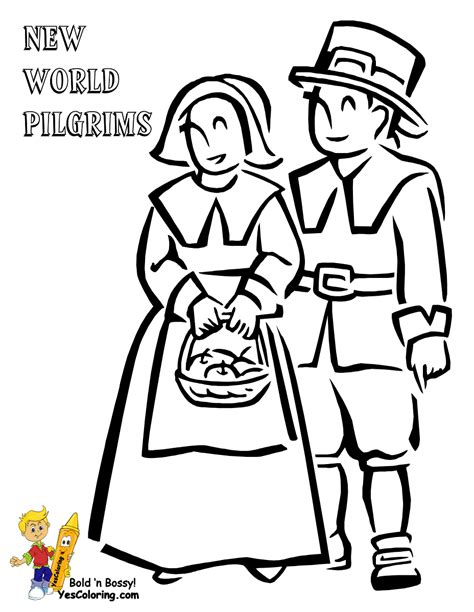 pilgrim family coloring page bountiful thanksgiving coloring thanksgiving day free