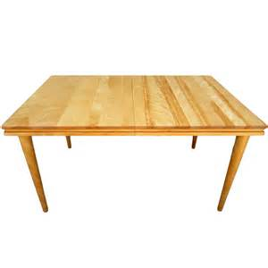 Maple Dining Tables Russel Wright Solid Maple Dining Table At 1stdibs