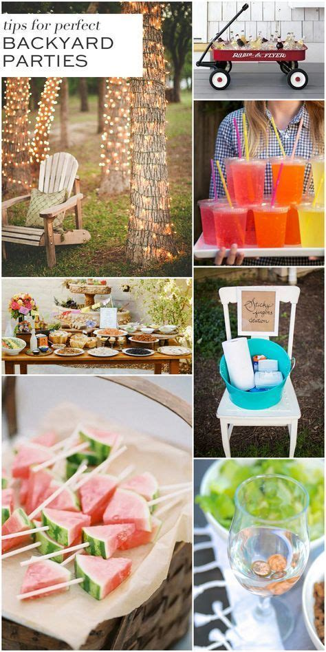 Backyard Bbq Hacks 25 Best Ideas About Backyard Decorations On