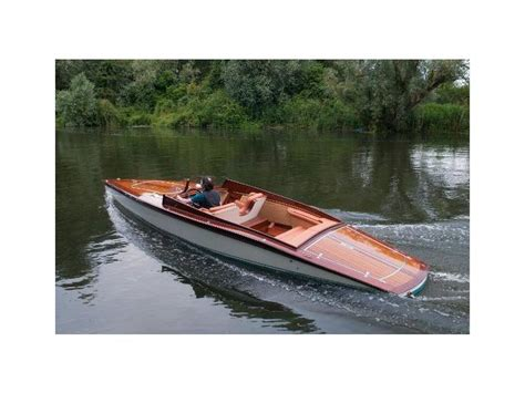 wooden boat launch plans fine wooden boats ltd slipper launch new for sale 10153