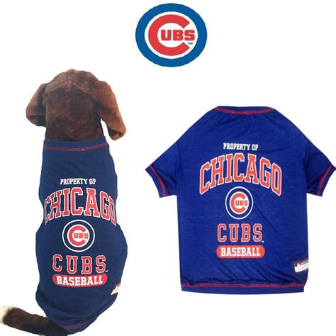 dog names for chicago cubs fans mlb pet fan gear chicago cubs tee shirts tank t shirt for