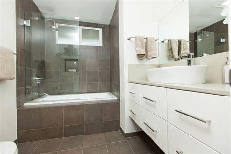 Four Strong and Elegant Floating Vanities   One Week Bath