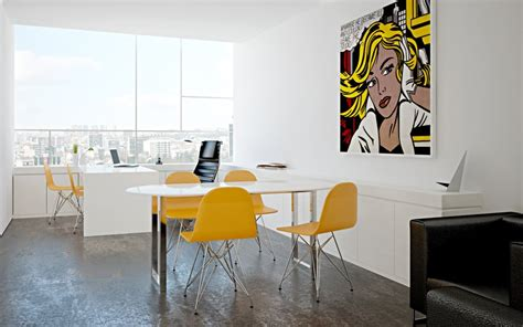 office wall art minimalist office interiors with retro wall art decor