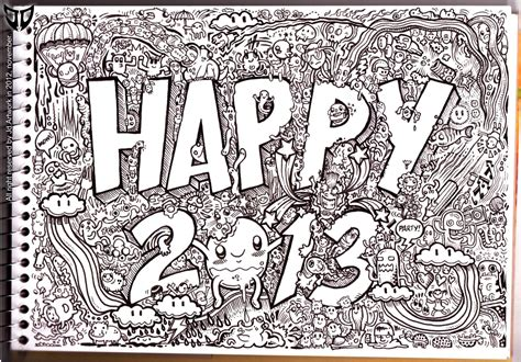 photo doodle doodle 1 happy 2013 by natas88 on deviantart