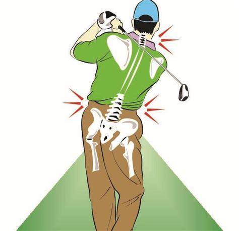 back pain after golf swing how to improve your golf game and end lower back pain