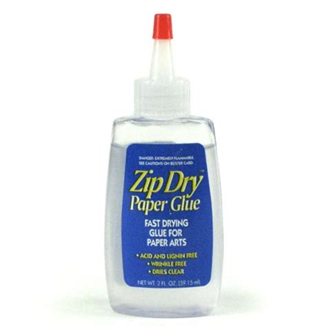 Paper Craft Glue - beacon adhesives craft using zip paper