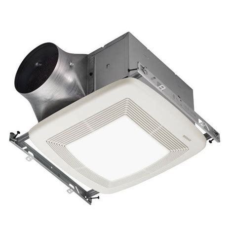 broan ventilation fan with light broan nutone xb50l 50 cfm bathroom ventilation fan with light