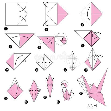 Dessin Oiseau Origami by 233 Par 233 Comment Faire 224 Origami Un