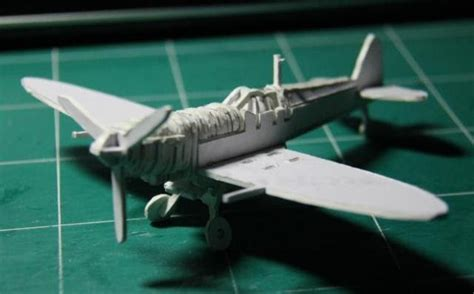 How To Make A Paper Spitfire - papermau ww2 s supermarine spitfire puzzle paper model