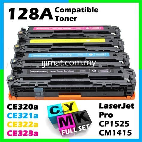 Toner Hp Laserjet128a Colour Ce321a Ce322a Ce323a hp 128a ce320a ce321a ce322a ce323a high quality